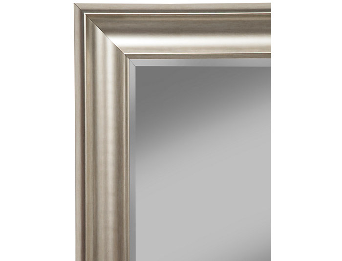 Leaning Champagne Floor Mirror, , large
