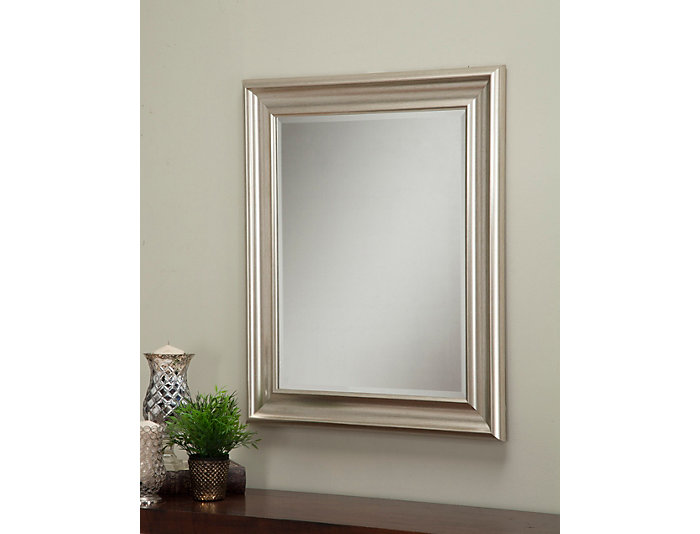 Albany Silver Wall Mirror, , large