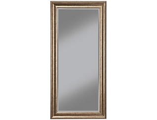 Leaning Gold Floor Mirror, , large