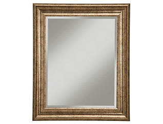 Albany Gold Wall Mirror, , large