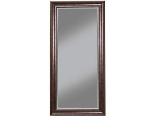 Leaning Bronze Floor Mirror, , large