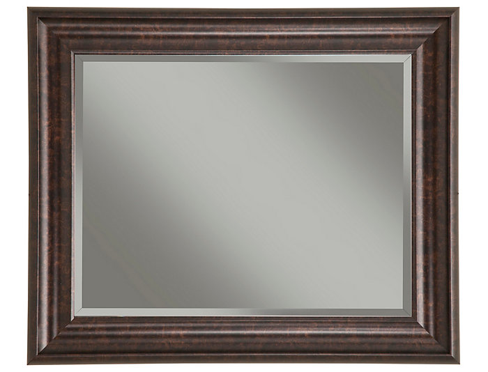 Albany Bronze Wall Mirror, , large