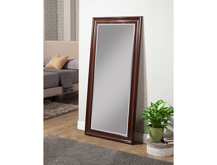 Fresno Cherry Leaning Mirror, , large