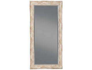 Marin White Leaning Mirror, , large