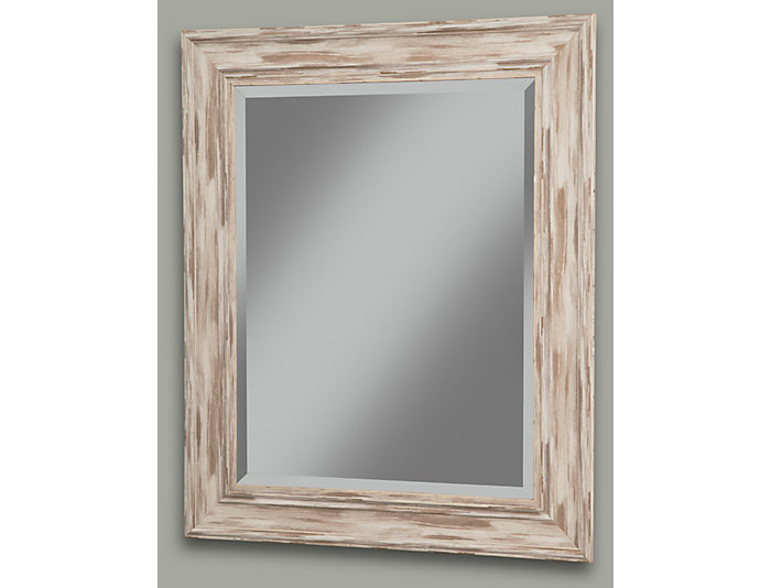 Sutter White Wall Mirror, , large