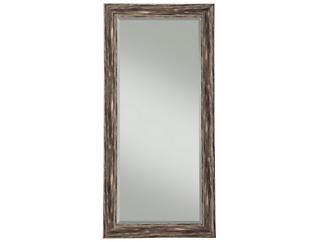 Marin Black Leaning Mirror, , large
