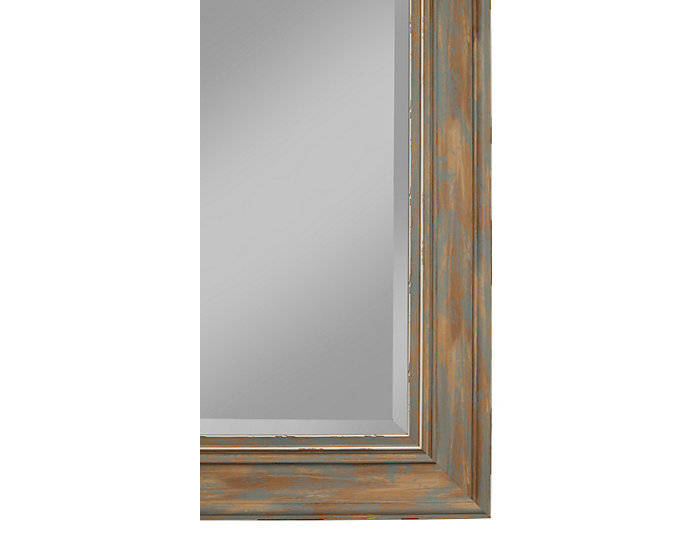 Marin Turquoise Leaning Mirror, , large
