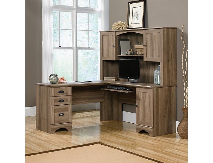 Hutch for L desk, , large