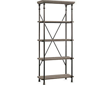 5 Shelf Bookcase, , large