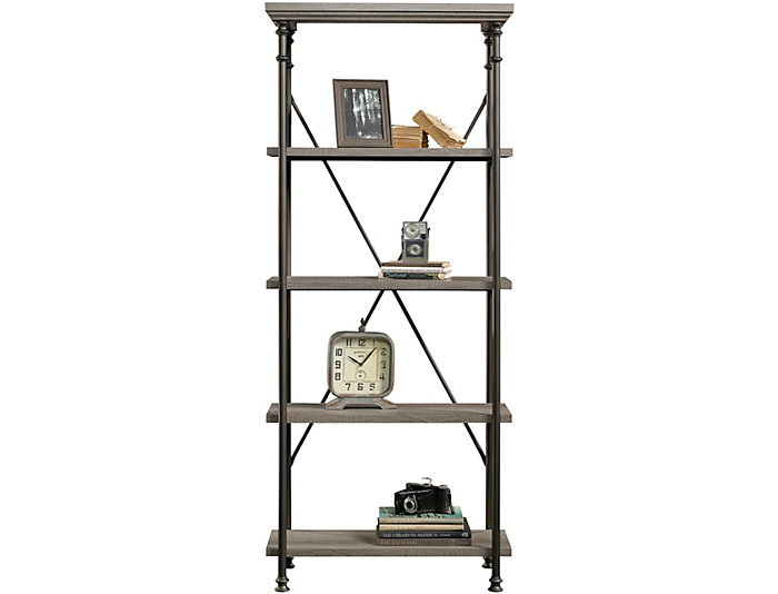 Canal Street 5 Shelf Bookcase, , large