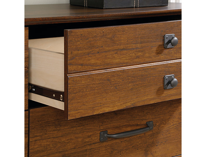 Carson Forge Cherry Dresser, , large