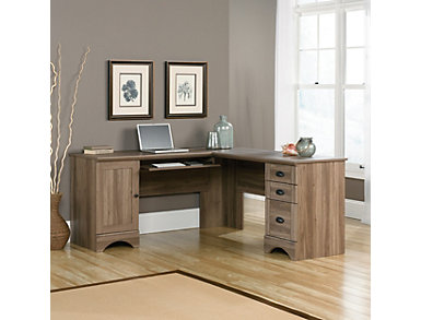 Harbor View L-Shaped Desk, , large