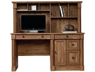 Vine Crest Desk with Hutch, , large