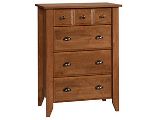 Shoal Creek 4-Drawer Oak Chest, , large