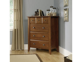 Shoal Creek 4 Drawer Oak Chest, , large