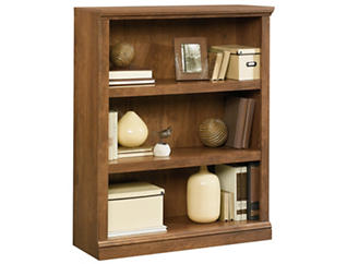 Oak Three Shelf Bookcase, , large