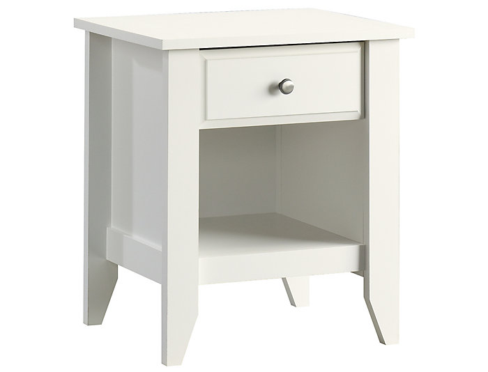 Shoal Creek White Nightstand, , large