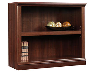 Cherry Two Shelf Bookcase, , large