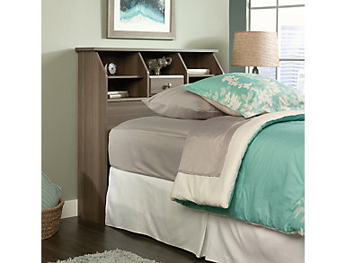 Twin Bookcase Ash Headboard, , large