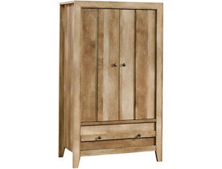 Dakota Pass Oak Armoire, , large