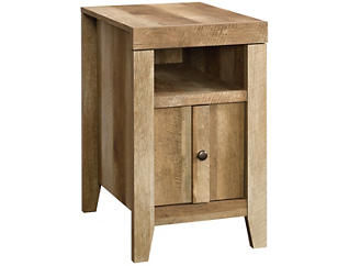 Dakota Oak End Table, Taupe, , large