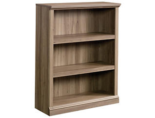 Salt Oak Three Shelf Bookcase, , large