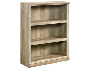 Lintel Oak Three Self Bookcase, , large
