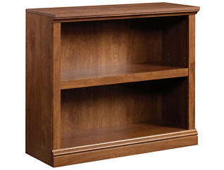 Oak Two Shelf Bookcase, , large