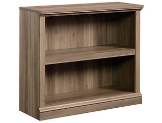Salt Oak Two Shelf Bookcase, , large