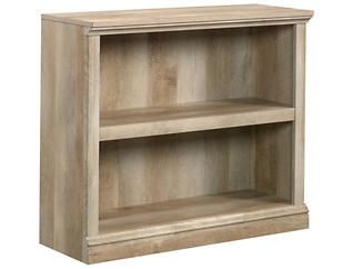 Lintel Oak Two Shelf Bookcase, , large