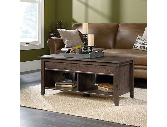 Carson Lift-Top Coffee Table, Oak, , large
