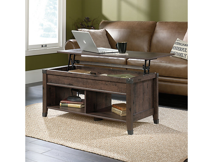 Carson Lift Top Coffee Table Oak Large