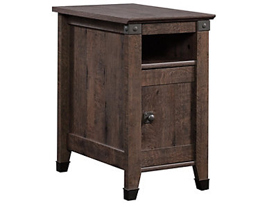 Carson End Table, Oak, , large