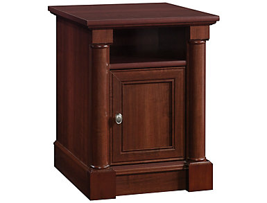 Palladia End Table, Brown, , large