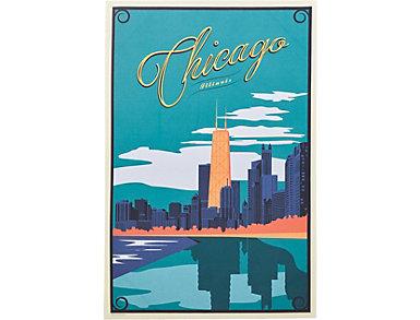 Chicago Skyline Poster, , large