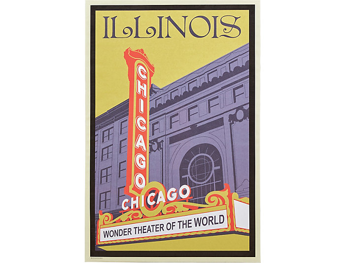 Chicago Theater Poster, , large