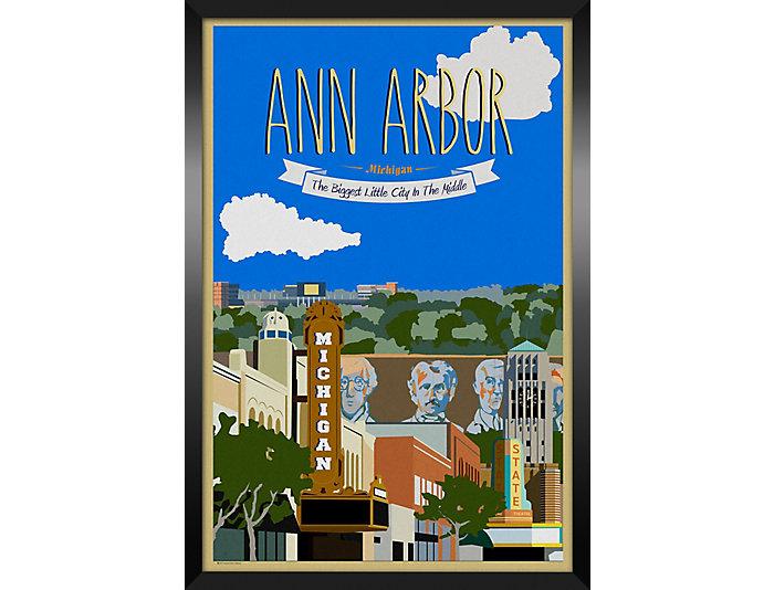 Ann Arbor Framed Print, , large
