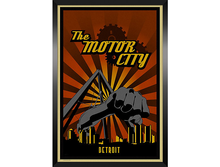 Motor City Framed Print, , large