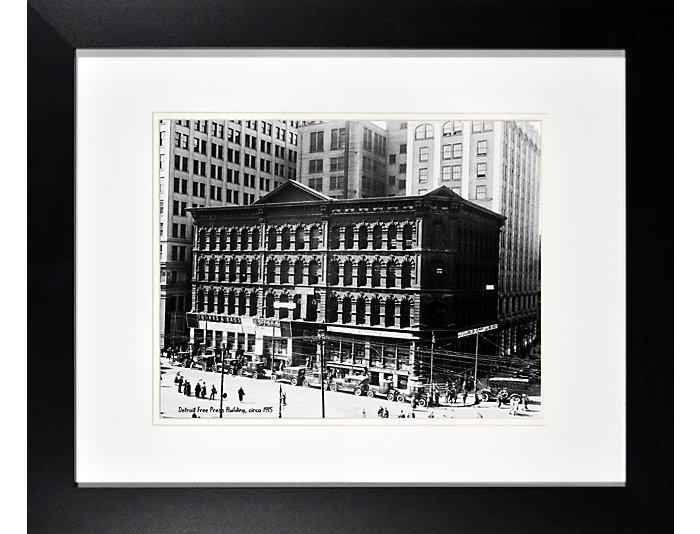 Detroit Free Press Building, , large