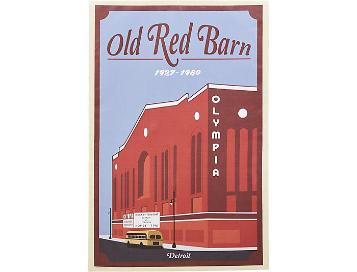 Olympia - Old Red Barn Poster, , large