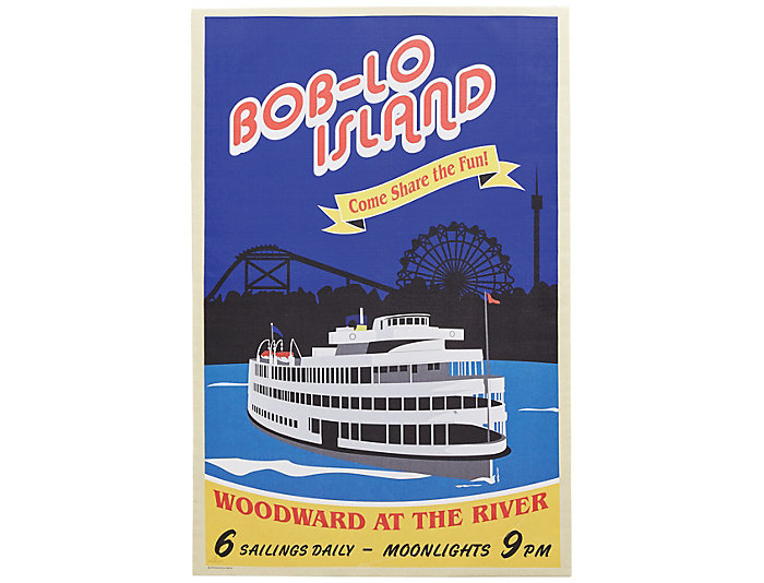 Boblo Island Canvas Poster, , large