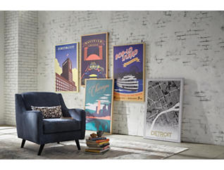 Hudson's Department Store Poster, , large