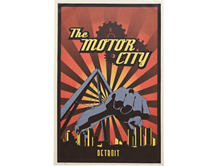Motor City - Joe Louis Fist, , large