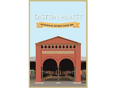Eastern Market Poster, , large