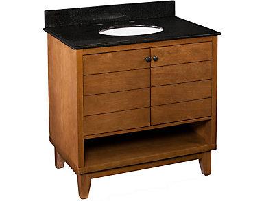 Ridglea Oak Vanity Sink, , large