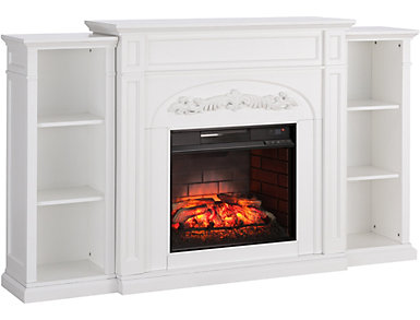 Chantilly White Fireplace, , large