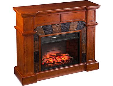 Catwright Whiskey Fireplace, , large