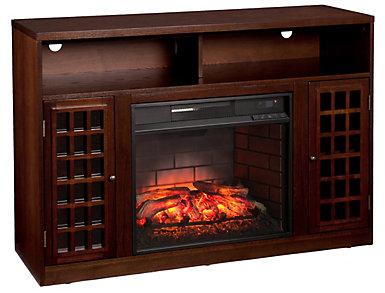 Narita Espresso Fireplace, , large