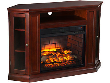 Claremont Cherry Fireplace, , large