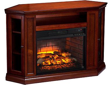 Claremont Mahogany Fireplace, , large